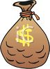 Sack of Money clipart