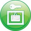 Secure Lockers Icon clipart