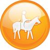 Riding Trails Icon clipart