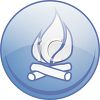 Campfires Allowed Icon clipart