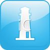 LIghthouse Ahead Icon clipart
