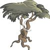 Windswept Tree clipart