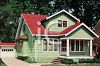 Old Fashioned Clapboard House 1930s clipart