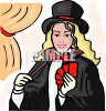 Female Magician  clipart