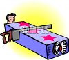 Sawing a Person in Half Trick clipart