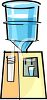 Cartoon Water Cooler clipart