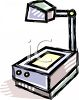 Overhead Projector clipart