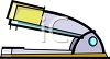 Cartoon Stapler clipart