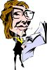 High Powered Female Businesswoman clipart