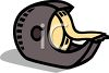 Cartoon of a Tape Dispenser clipart