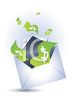 Money in an Envelope clipart