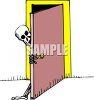 Metaphor Of A Skeleton In Your Closet clipart