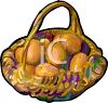 A Basket of Eggs clipart