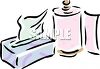 Tissue and Paper Towels clipart