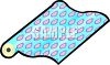 Roll of Wrapping Paper  clipart