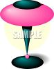 A Futuristic Desk Lamp clipart