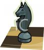 A Chess Knight clipart
