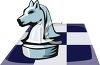 A Knight Chess Piece clipart