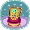 Engagement Ring in the Jewelry Box clipart