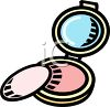 Face Powder Compact clipart