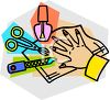 Manicure Items clipart