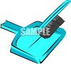 Hand Broom and Dustpan clipart