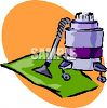 Carpet Cleaning Machine clipart