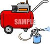Industrial Power Washer clipart