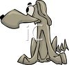 Hound Dog Cartoon clipart