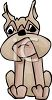 Boxer Dog Cartoon clipart