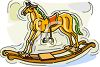 Fancy Rocking Horse clipart