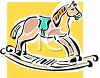Rocking Horse Cartoon clipart