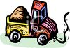 Dump Truck Pull Toy clipart