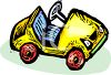 Toy Cartoon Car clipart
