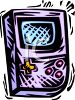 Hand Held Video Game clipart