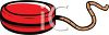 Red Yo-Yo clipart