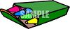 Box of Crayons clipart