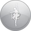 Ballet Dancer Icon clipart
