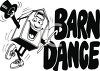 Barn Dance Sign clipart