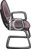 Metal Office Chair clipart