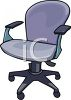Fancy Desk Chair clipart