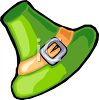 Irish Leprechaun Hat clipart