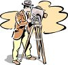 Vintage Photographer  clipart