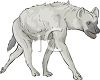 Laughing Hyena clipart
