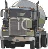 A Commercial Tanker Truck clipart