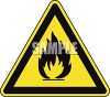 Safety Triangle for Campfires clipart
