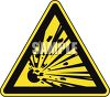 Safety Triangle for Blast Area clipart