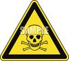 Safety Triangle for Poison clipart