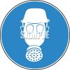 Sign for Respirator and Safety Gear Hazardous Area clipart