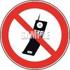 Cell Phones Prohibited Sign clipart